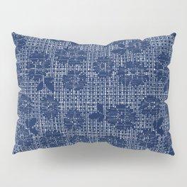Floral Lace - Navy Pillow Sham