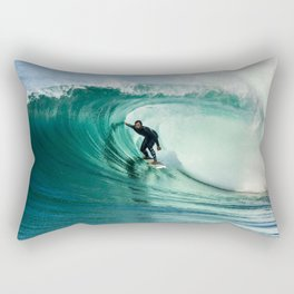 Surfing Cylinders / Wedge 10-1-20  Rectangular Pillow