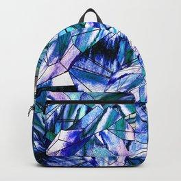 Crystal Blue Sapphire Gem Backpack