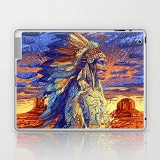 native american colorful portrait Laptop & iPad Skin