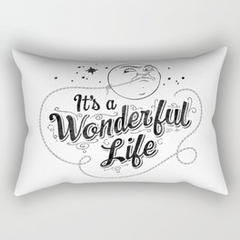 It's a Wonderful Life - Title Rectangular Pillow