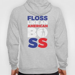 Floss Like an American Boss Gift for School Kids, Youth for School, Dance or Party Hoody
