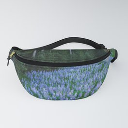 High Country Lupine - Purple Wildflowers in Montana Mountains Fanny Pack