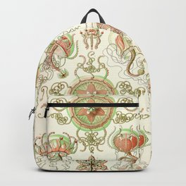 Haeckel jelly fish vintage Backpack