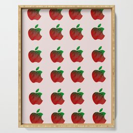 The Deceptive Apple Serving Tray