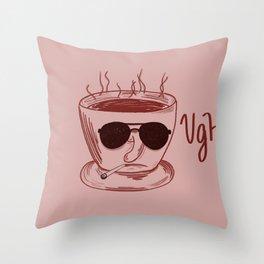 Detective Americano - UGH Throw Pillow