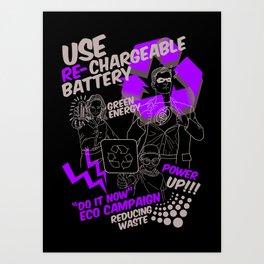 Eco Campaign Art Print