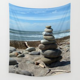 Beach Tower Wall Tapestry