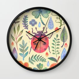 Et coloris natura II Wall Clock