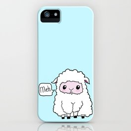 Sheep of indifference iPhone Case