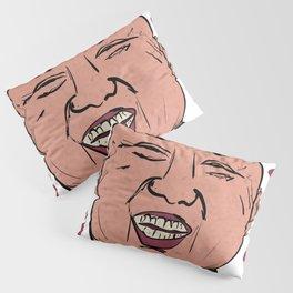 Kim Jong Un Smiling Leader Show Me Your Rocket Pillow Sham