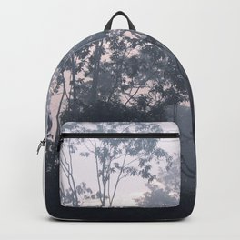 The mysteries of the morning mist Backpack