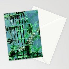 Green Dervish Stationery Cards