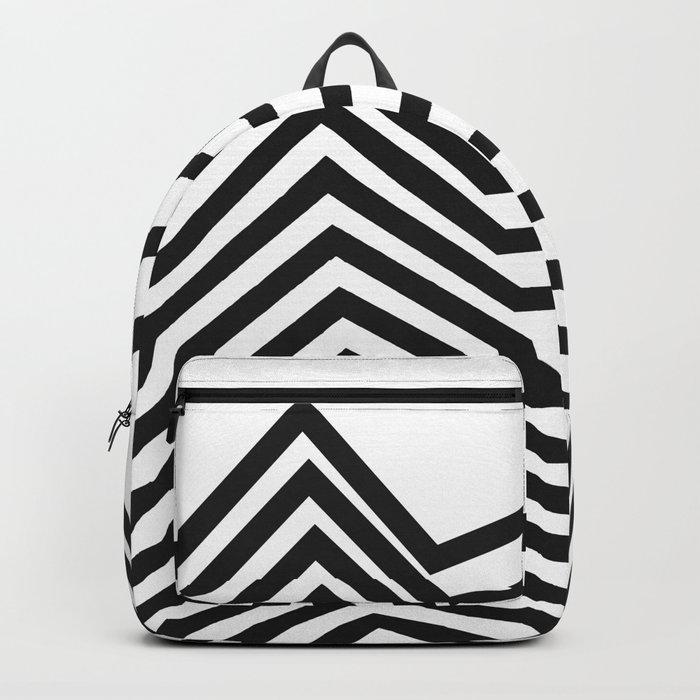 Scandinavian Minimal Line Art Backpack
