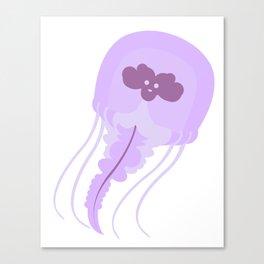 Floating Gelly-Jellyfish Canvas Print