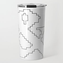 Ampersand pixel Travel Mug
