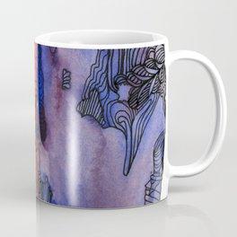 scared to turn blue Coffee Mug