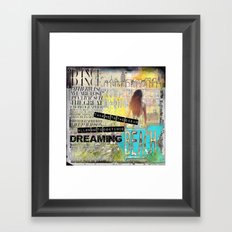 Continue Dreaming Framed Art Print