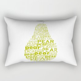 Pear Rectangular Pillow