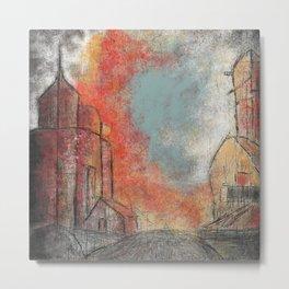 Road to Sunset Metal Print