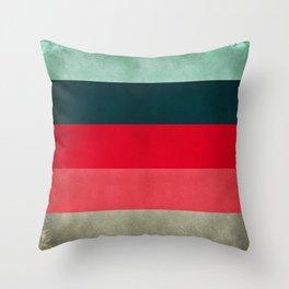 New York City Hues Throw Pillow