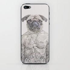 2 pug iPhone & iPod Skin