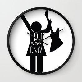 TRB in the DMV female Wall Clock