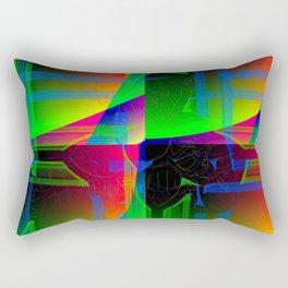 Pixel strikes  #1 Rectangular Pillow