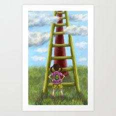 The Slide Art Print