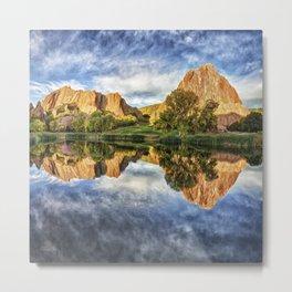 Colorful Colorado by Lena Owens/OLena Art Metal Print