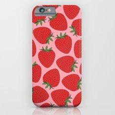 Strawberries Slim Case iPhone 6