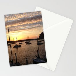 Rock Sunset Stationery Cards