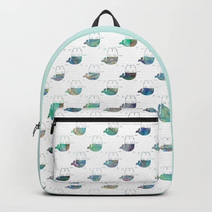 MerKitty Ocean Seashell Backpack