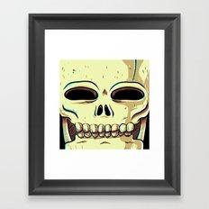 Skelly Framed Art Print