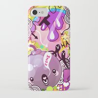 bombs away iPhone & iPod Cases featuring Bombs by Acrylicana