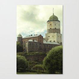 Vyborg Castle Gloom 2 Canvas Print