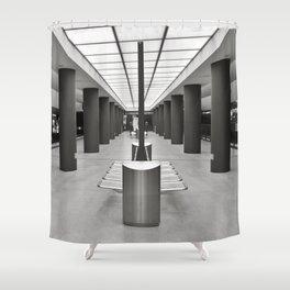 Underground Station - Brandenburg Gate - Berlin Shower Curtain