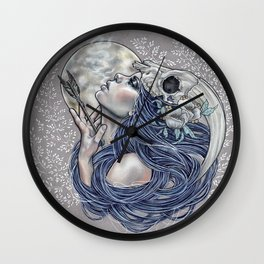 Final Breath Wall Clock