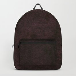 Grunge dark dirty brown ground Backpack