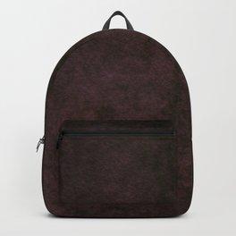 Grunge dark dirty brown ground Backpack