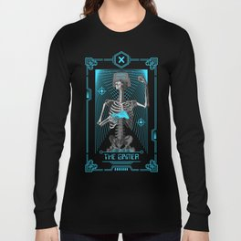 The Gamer X Tarot Card Long Sleeve T-shirt