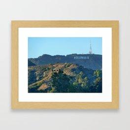 Hills of Hollywood Framed Art Print