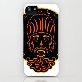 The king of vape #society6 #decor #buyart #artprint iPhone Case