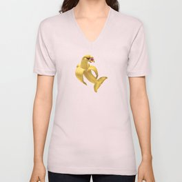 Fruit Fish Unisex V-Neck