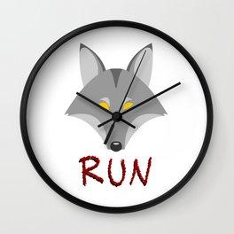 Wolf - Run Wall Clock