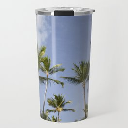 Palmy Blue. Travel Mug