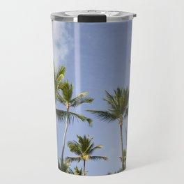 Palmy Blue. Travel Mug