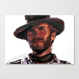 The Good - Clint Eastwood Canvas Print