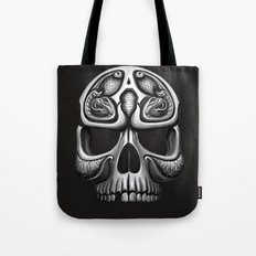 Iron Skull Tote Bag