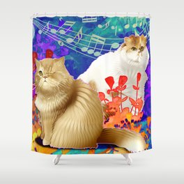 Pierre and John Shower Curtain